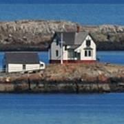 Little Brewster Island Poster