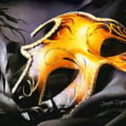 Little Carnival Mask Poster