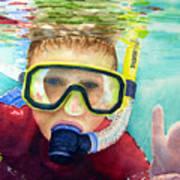 Little Diver Poster