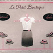 Little Dress Shop Poster