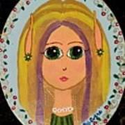Little Elf Girl Poster