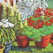 Little Flower Pot Garden Poster