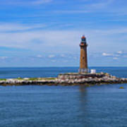 Little Gull Lighthouse Poster