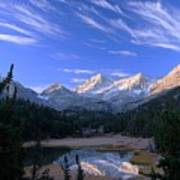 Little Lakes Valley Panorama Poster