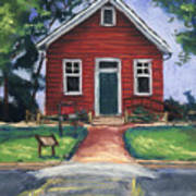 Little Red Schoolhouse Nature Center Poster