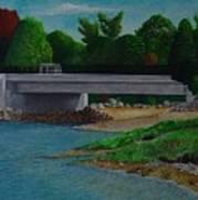 Little River Bridge Poster by Ron Sylvia