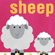 Little Sheep Poster by Linda Woods