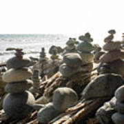 Little Stone Sculptures Poster