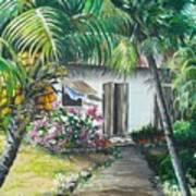 Little West Indian House 2...sold Poster