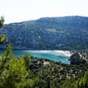 Livadi Beach On Thassos Island Poster