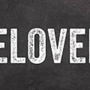 Live Love Bake Poster