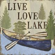 Live, Love Lake Poster