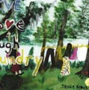 Live, Love, Laugh, Laundry Poster