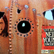 Live Rust, Neil Young Poster