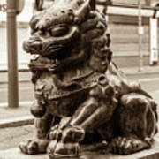 Liverpool Chinatown - Chinese Lion A Poster