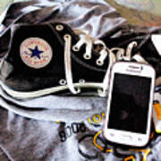 Living In Converse Resting Time  Poster