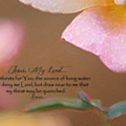 Living Waters Poster
