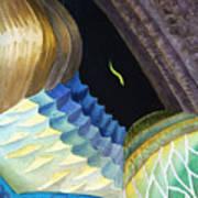 Lizard Skin Abstract II Poster