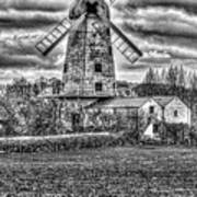 Llancayo Mill Usk 4 Mono Poster