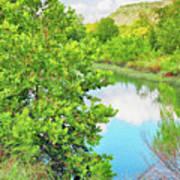 Llano River Scenic Poster