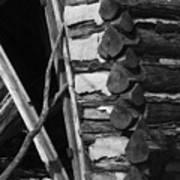 lloyd-shanks-barn-3BW Poster