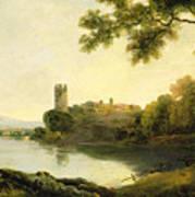 Llyn Peris And Dolbadarn Castle, North Wales Poster