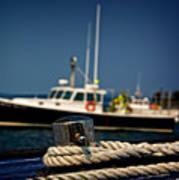 Lobster Boat I Poster