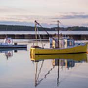 Lobster Boat Jonesport, Maine  Poster