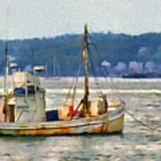 Lobster Boat Poster