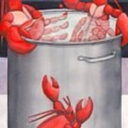 Lobster Spa Poster