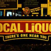Local Liqour Poster