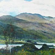 Loch Dun Luiche Donegal Ireland 2916 Poster
