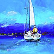 Loch Lomond Sail Poster