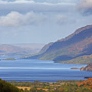 Loch Maree In The Highlands Of Scotland Poster
