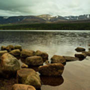 Loch Morlich And The Cairn Gorms Poster