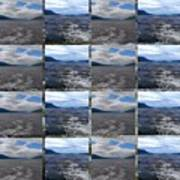 Loch Ness In Squares Poster