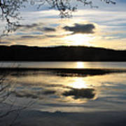 Loch Venacher Sunset Poster