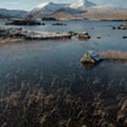 Lochan Nah-achlaise, Rannoch Moor, Scotland Poster