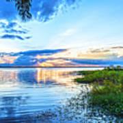 Lochloosa Lake Poster