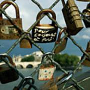 Locked Poster by Milan Mirkovic