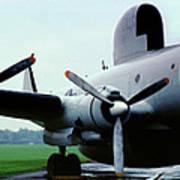 Lockheed Ec-121d Warning Star, Early Warning Aircraft Poster