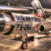 Lockheed F-94 Model C Starfire Poster