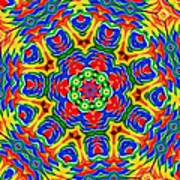 Lollipops Kaleidoscope 2 Poster