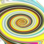 Lollypop Swirl  Poster