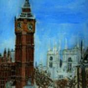 London Big Ben Clock  Poster