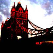 London Bridge No 3 Poster