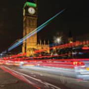 London Lit Poster