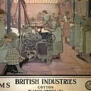 London Midland And Scottish Railway, British Industries - Retro Travel Poster - Vintage Poster Poster