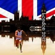 London Olympics 2012 Poster by Sharon Lisa Clarke