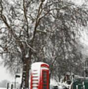 London Telephone Box Poster